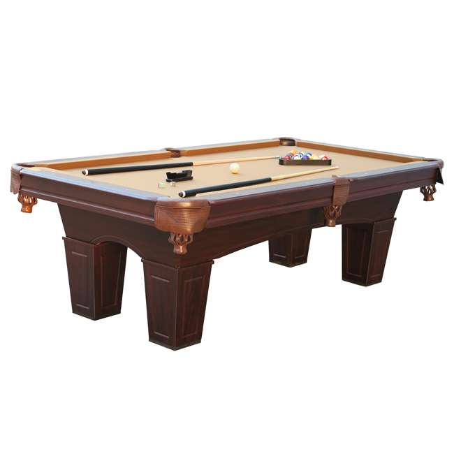 BLL096_097B Barrington 8-Foot Billiard Pool Table and Table Tennis Top 1