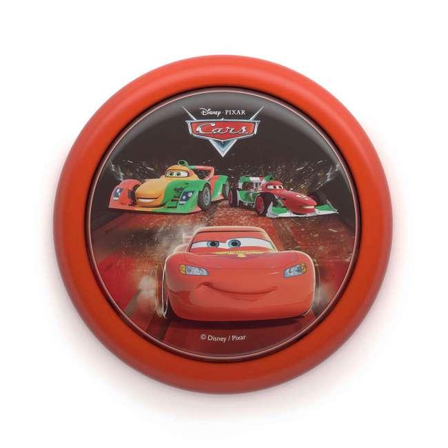 PLC-7192432U0 + PLC-7178832U0 Philips Disney Pixar Cars Night Light w/ Philips Disney Pixar Cars Flash Light 1