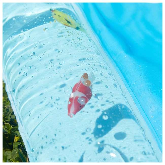 WMO-61850 Wham-O Backyard Sea Creature Printed Children's Splash Pad with Inflatable Rim 6