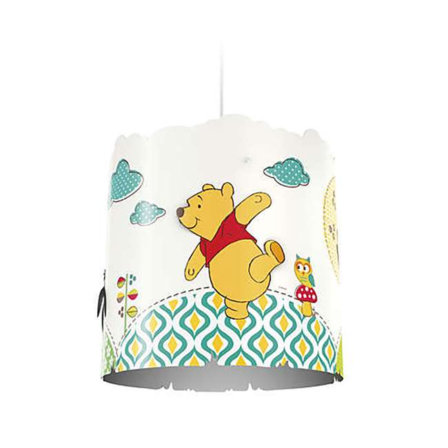 PLC-7175134U0 2) Philips Disney Winnie the Pooh Suspension Light Lampshade  1