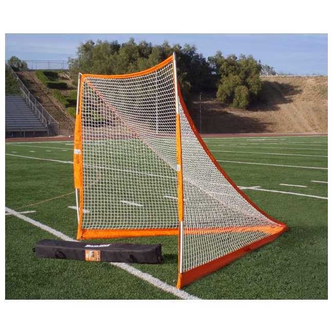 BowLAX Bownet 6 x 6 Foot Full Size Pop Up Soccer Pugg Lacrosse Goal Net  1