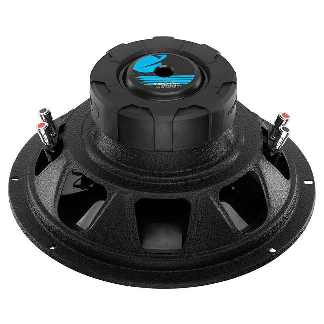 "4 x AC12D + QBASS12 Planet Audio 12"" 1800W Subwoofers (4 Pack) & Dual 12"" Vented Sub Box 4"