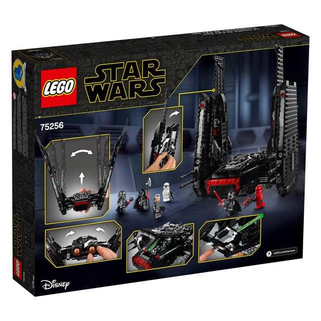 6251767 LEGO 75256 Kylo Ren's Shuttle Block Building Kit w/ 6 Star Wars IX Minifigures 3