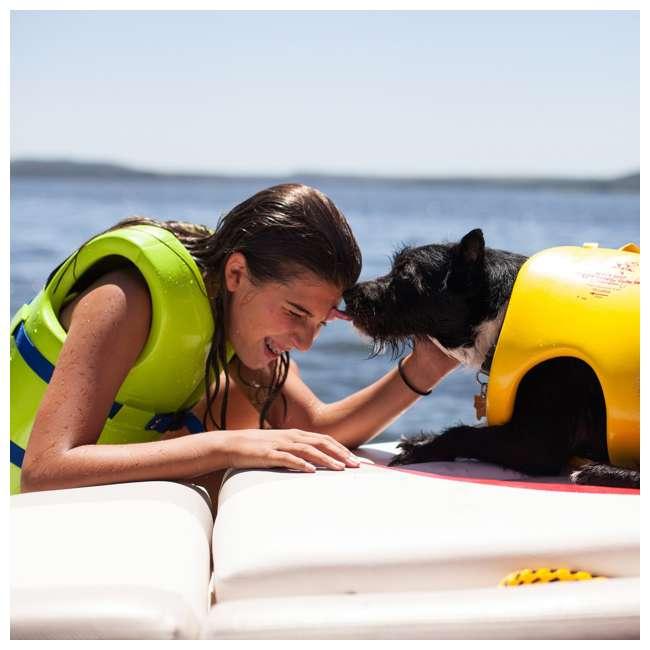 1021512-U-A TRC Recreation Super Soft USCG Childs Foam Swim Vest, Medium, Yellow (Open Box) 2