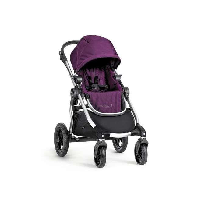 1959409 Baby Jogger City Select Folding Stroller, Amethyst