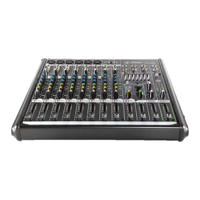 ProFX12v2-OB Mackie ProFX12v2 Focused Live Sound 12 Channel Effects Mixer with 6 Preamps 2