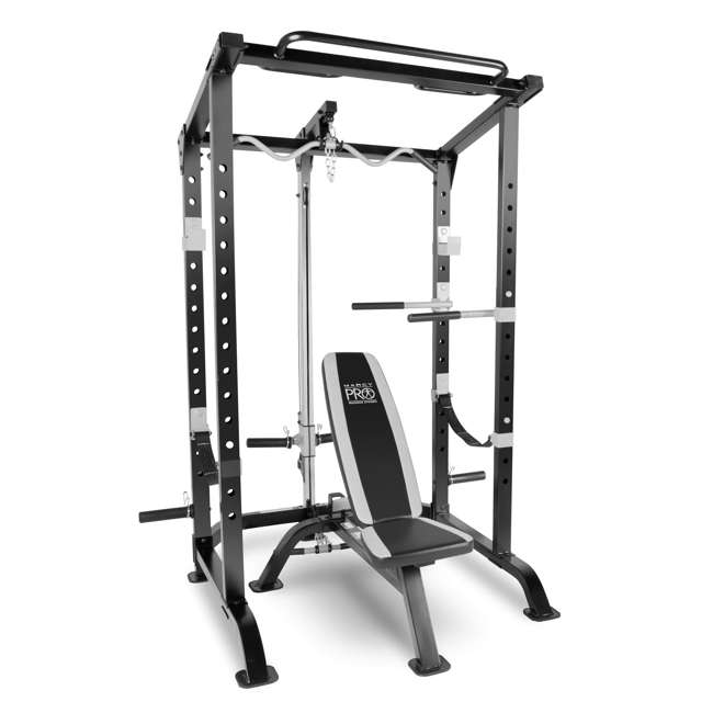 MWM-4484 Marcy Pro Full Cage and Bench System