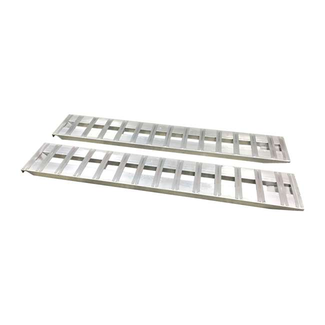 GH-R84-OB GEN-Y 7-Foot 6000-Pound Aluminum Truck Bed Loading Ramps(Open Box)
