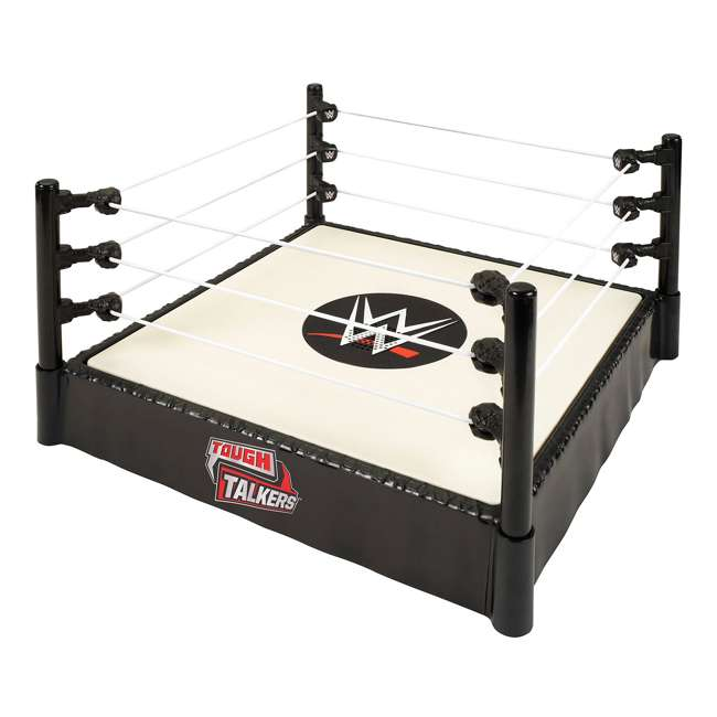 WWE Tough Talkers Interactive Action Figure Wrestling Ring