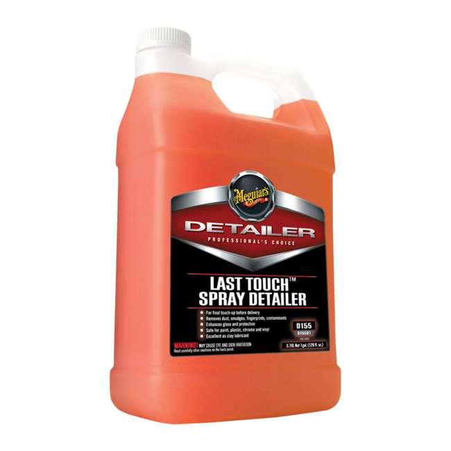 D15501 + D11001 Meguiar's Last Touch Spray Detailer and Hyper-Wash, 1 Gallon 1