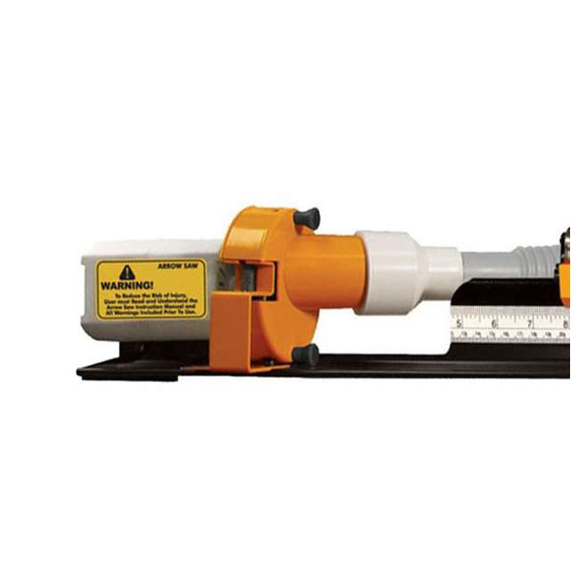 52-0601-W Weston 8000 RPM Carbon Arrow Cutting Saw with Dust Collector 2