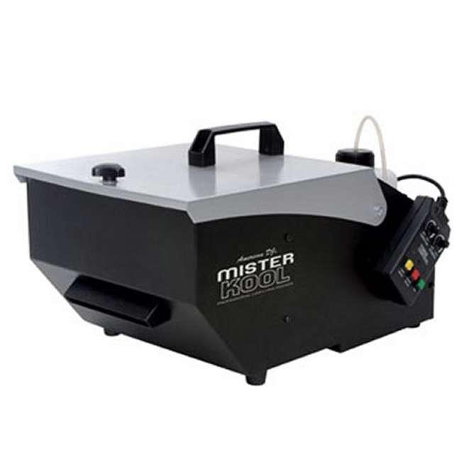 MISTER-KOOL + HDF American DJ Mister Kool Low Lying Fog Machine w/ HDF Fog Fluid 1