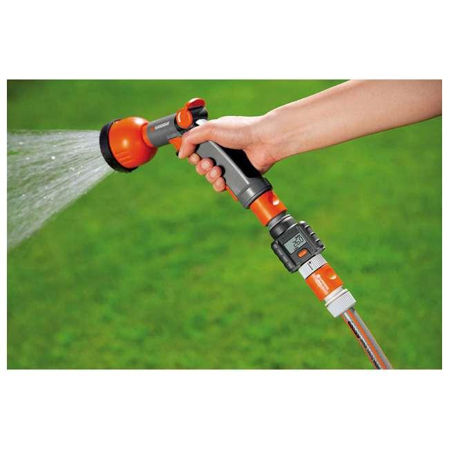 GARD-9188-U Gardena Water Smart Flow Meter Water Timer 3