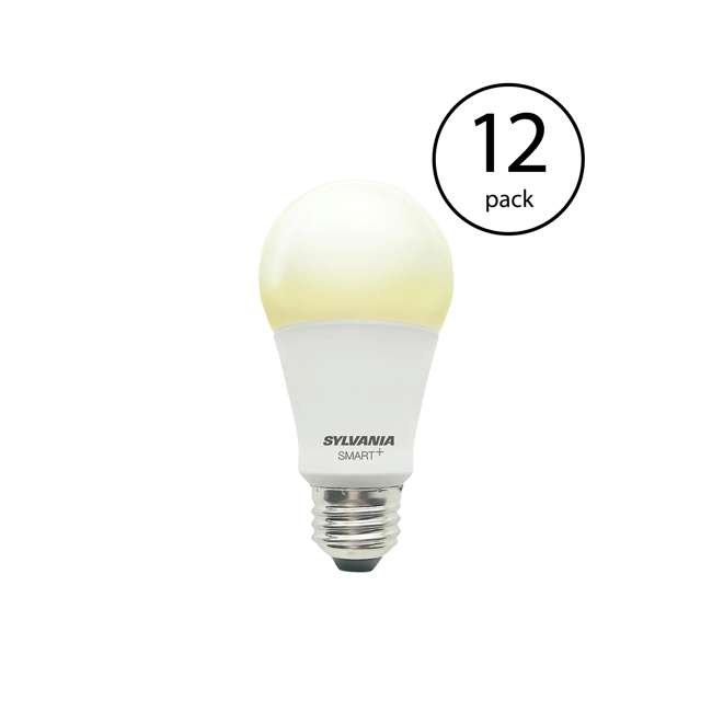 12 x SYL-74579 Sylvania Smart+ Bluetooth A19 LED Light Bulb (12 Pack)