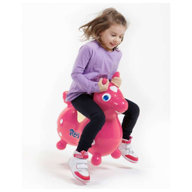 KET-7003 Gymnic Rody Horse Ride-On Bouncing Toy, Pink 1