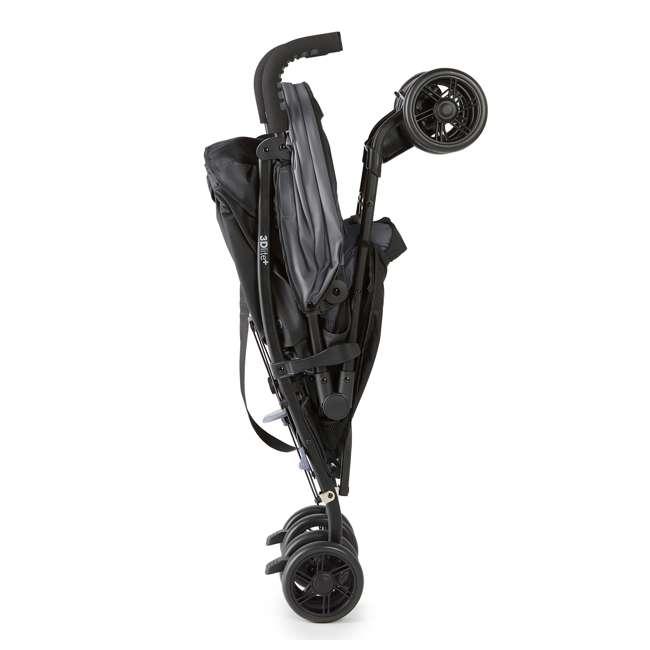 32753 Summer Infant 3DlitePlus Convenience One-Hand Adjustable Stroller Matte Gray 4