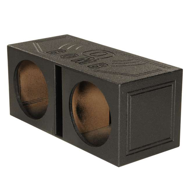 AC12D + QBOMB12V + AC15001M + AKS8 Planet Audio 12-Inch 1800W Subwoofers with Vented Lined Box Enclosure, Amp and Wiring Kit 3
