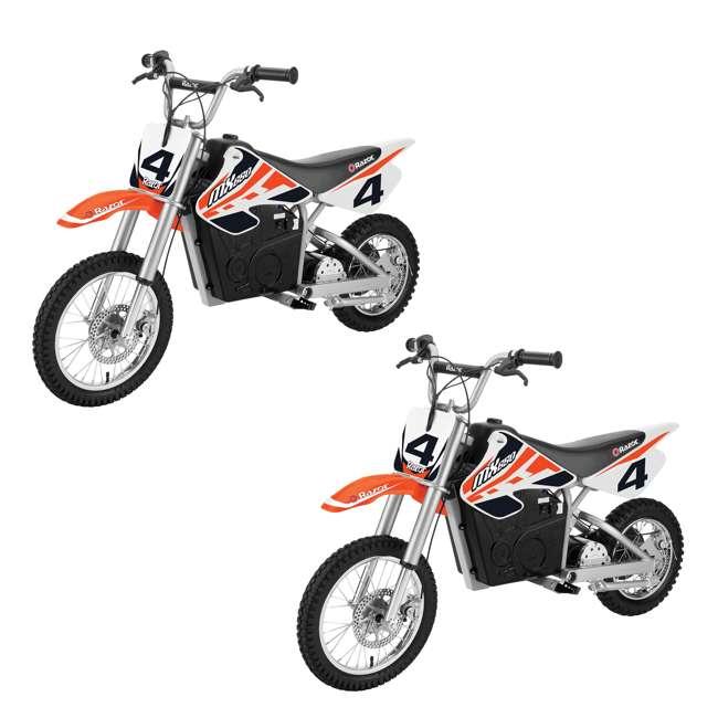 15165010 Razor MX650 Electric Dirt Rocket Bike (2 Pack)