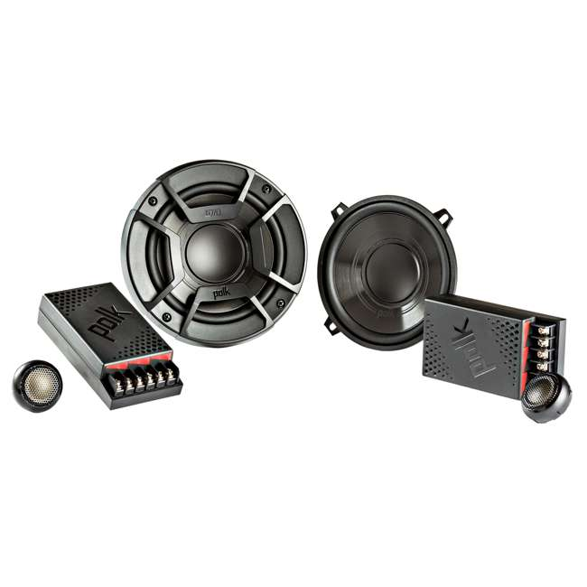 "DB5252 + CH6930 Polk Audio 5.25"" 300 Watt 2 Way + Boss 6x9"" CH6930 3-Way Speakers 1"