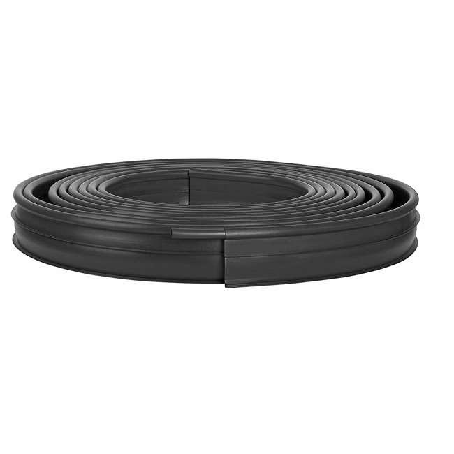 CPLPRO6000 Suncast 60-Foot Landscape Edging Roll, Black (2 Pack) 1