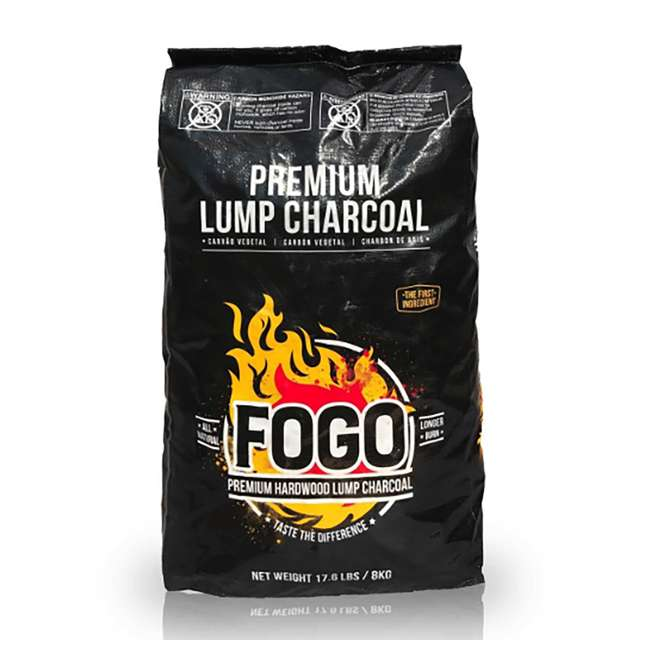 FG-CH-FB-17 FOGO Premium Oak Restaurant All-Natural Hardwood Lump Charcoal, 17.6 Pounds