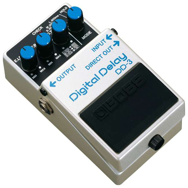 4 x DD-3 Boss DD-3 Digital Delay Effects Guitar & Bass Pedal (4 Pack) 1