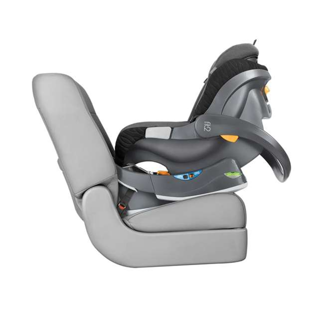 CHI-0507977155 Chicco Fit2 Infant/Toddler Rear Facing Car Seat w/ 2 Stage Base, Black Legato 4
