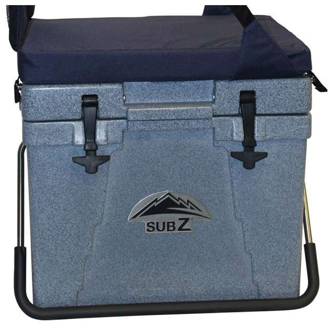 4 x 2193382-MW Sub Z 23 Quart Cooler with Seat, Blue (4 Pack) 2