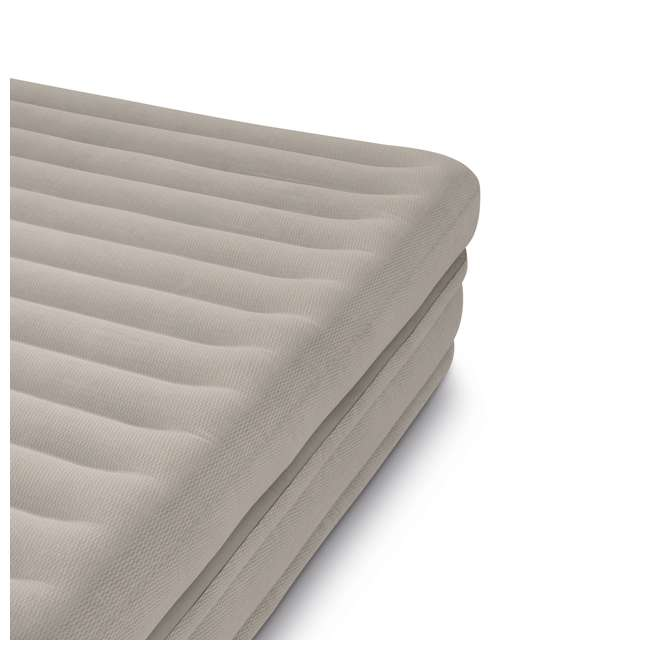 64445E Intex Prime Comfort Elevated Queen Airbed with Built-In Pump 3