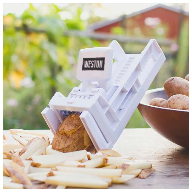 36-3301-W Weston Ratchet Style French Fry Cutter and Vegetable Dicer