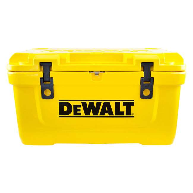 DXC65QT DeWalt 65 Quart Insulated Lunch Box Drink Cooler Roto Molded Portable, Yellow 1