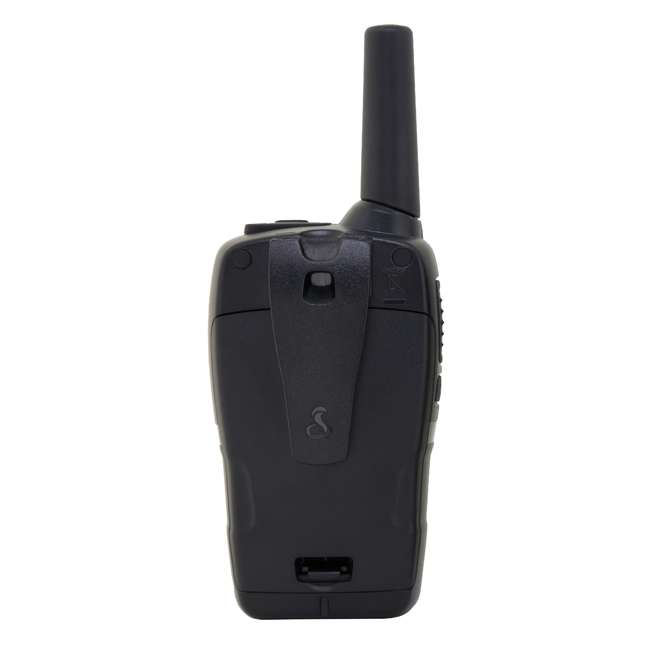 CXT235 Cobra CXT235 MicroTalk 20 Mile FRS/GMRS Walkie Talkie 2-Way Radios (2) + Headsets (2) 2