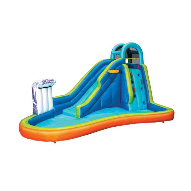 BAN-99522 Banzai Deluxe 2 in 1 Water Park and Bounce House Combo Pack  2