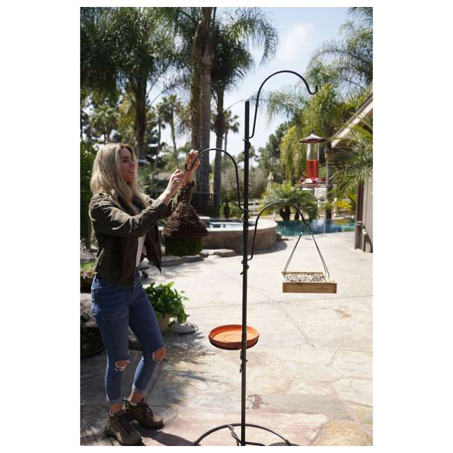 IYTBC-4 Yard Butler YTBC-4 Adjustable Bird Feeding Station and Patio Base 3