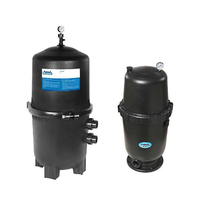APF250PRO AquaPro 250SF Swimming Pool Cartridge Filter, Tall  (2 Pack) 2