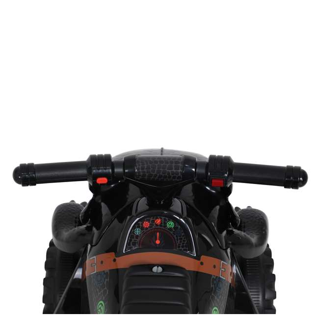 W413D Rollplay How to Train Your Dragon Battery Kid's Mini Quad 4 Wheeler Ride-On Toy 5