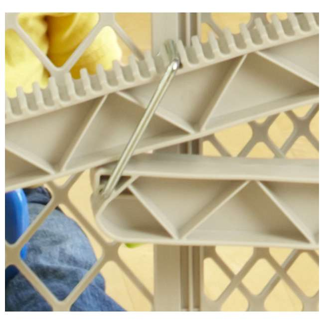 8699 North States Top-Notch Plastic Pressure Mounted Baby / Pet Safety Gate | 8699 4