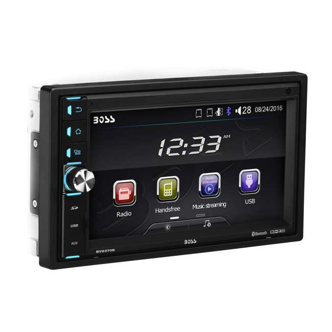 BV9370B Boss Double-DIN 6.5-Inch Touchscreen Bluetooth Multimedia Player with Remote 1