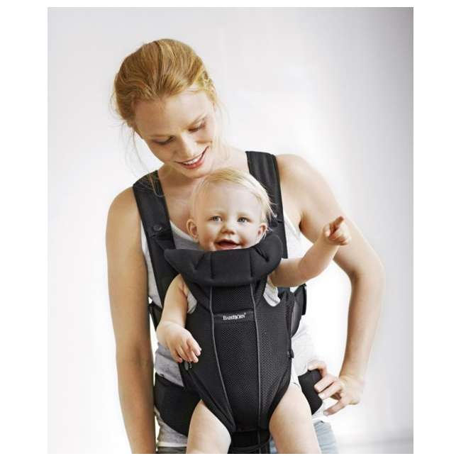 Babybjorn Baby Carrier Miracle Black Mesh 096002us