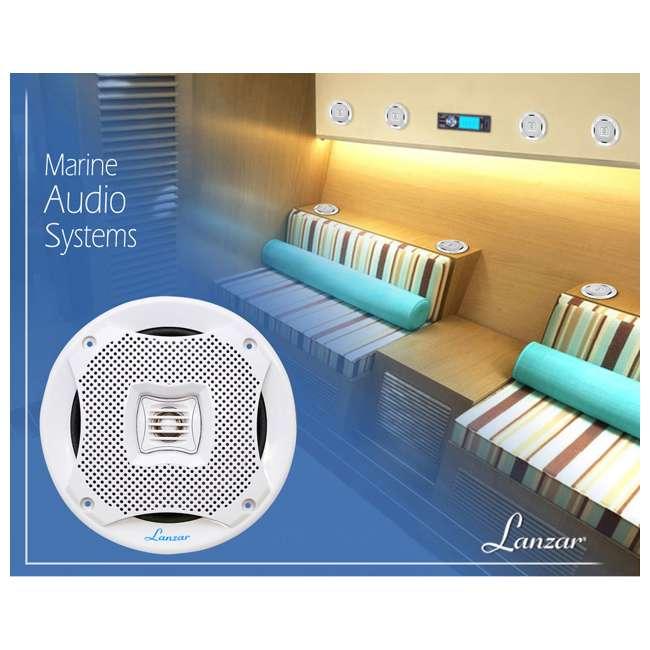 AQ5CXW Lanzar AQ5CXW 5.25-Inch 400 Watt Marine Speakers (Pair) 4