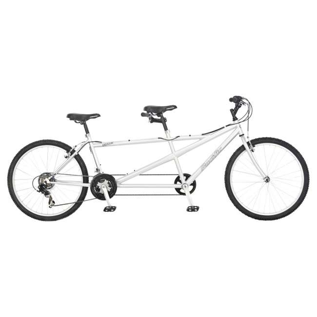 Pacific quot dualie tandem speed road bike silver