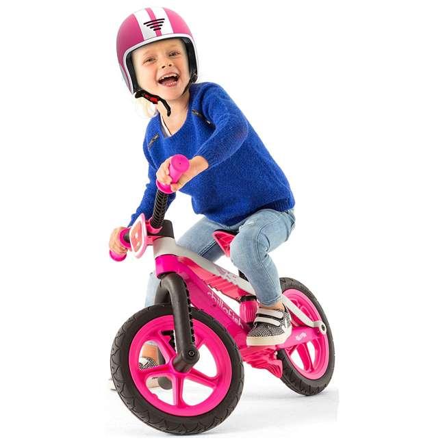 CPMX02PIN Chillafish BMXie Balance Bike with Airless Rubberskin Tires, Green 1