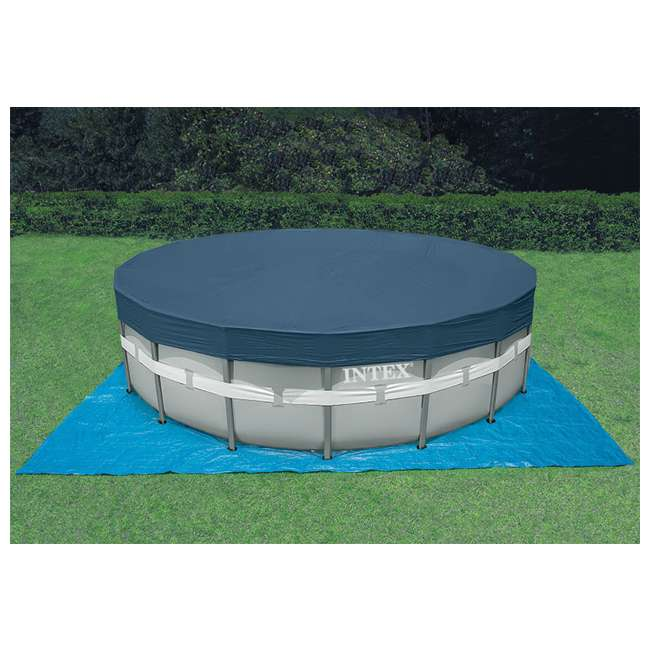 Intex 18 39 X 52 Ultra Frame Swimming Pool Set W Sand Saltwater System 28333eg
