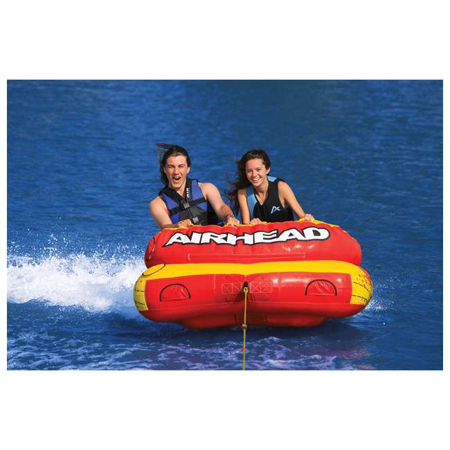 AHLW-2-OB Airhead Live Wire 2 Inflatable 1-2 Rider Towable Tube | AHLW-2 (Open Box) 2