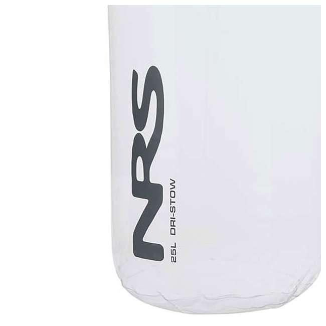 NRS_55021_02_103 NRS 25 Liter Dri-Stow Dry Sacks Clear Bag  2