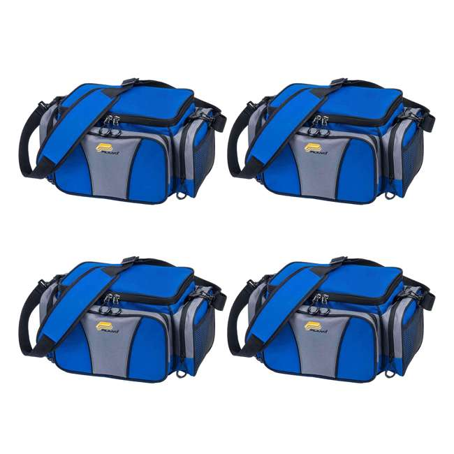 4 x PLANO-443620 Plano Weekend Series 3600 Fishing Tackle Case (4 Pack)