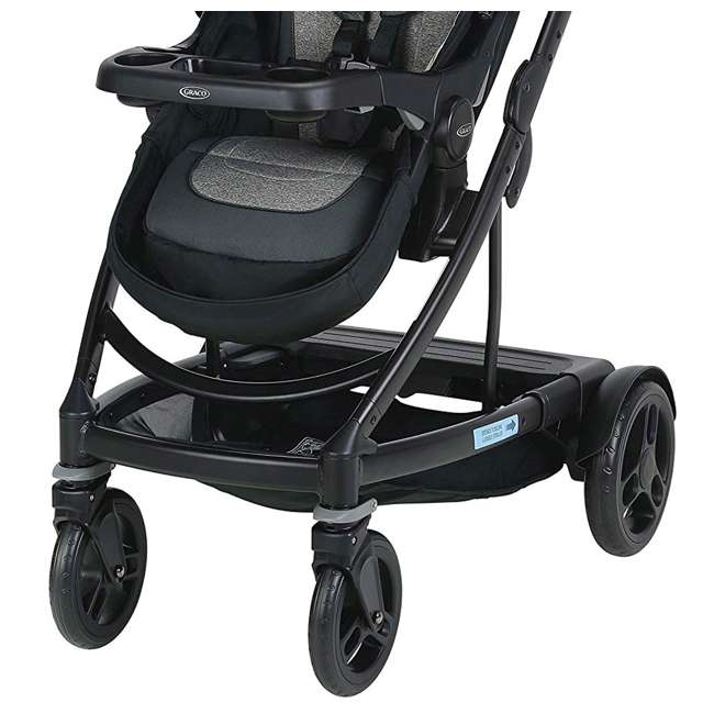2065103 Graco UNO2DUO Single Folding Reclining Convertible Baby Travel Stroller, Bryant 2