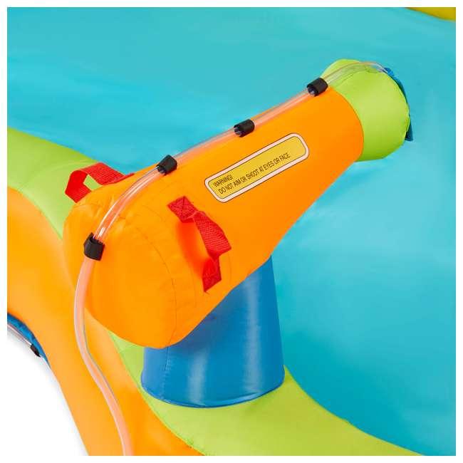 BAN-90369 Banzai 90369 Adventure Club Water Park Inflatable 2 Lane Water Slide Splash Pool 3