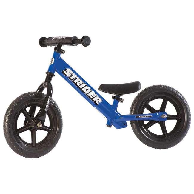ST-S4BL Strider 12 Sport Balance Kids Learning Bike, Blue