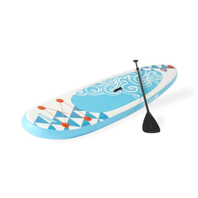 85739 Banzai 10' Inflatable SUP Stand Up Paddle Board Adjustable Paddle & Backpack